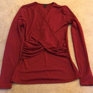 Like New Ann Taylor Twist Front Top
